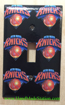 NY Knicks Toggle Rocker Light Switch Power Outlet Wall Cover Plate Home decor image 1