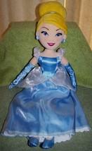 """Disney Princess CINDERELLA 21""""L Plush Doll NWT - $21.88"""