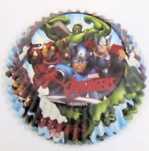 Avengers 50 Ct Baking Cups Party Supplies Cupcakes Liners Wilton - $2.96