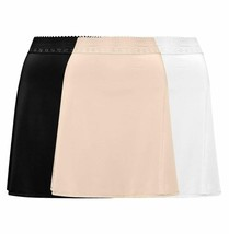 Free to Live 3-Pack Lace Trim Waist - Knee Length Half Slips for Women's... - $35.36+