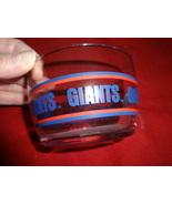 NFL football lot: New York Giants glass snack bowl/Super Bowl pins/Curt ... - $10.00