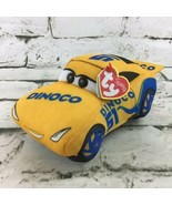Ty Sparkle Disney Pixar Cars 3 Cruz Ramirez Dinoco Race Car Plush Stuffed Toy - $11.88