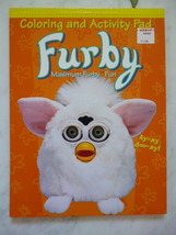 Original 1999 FURBY Coloring and Activity Pad FURBY Maximum Furby Fun - $14.99