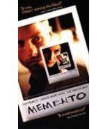 Memento VHS Video Movie Guy Pearce Carrie Anne Moss EUC - $4.74