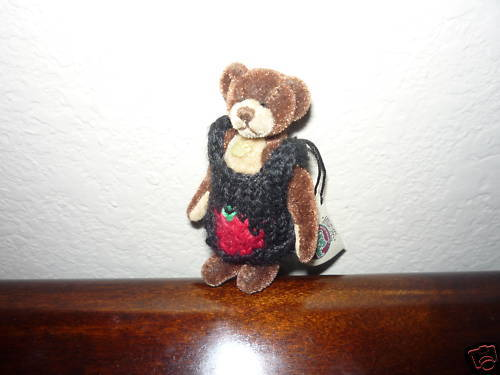 Primary image for Ganz Cottage Collectibles Miniatures Bear Bruno MWT