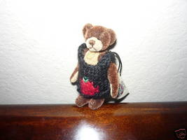 Ganz Cottage Collectibles Miniatures Bear Bruno MWT - $15.07