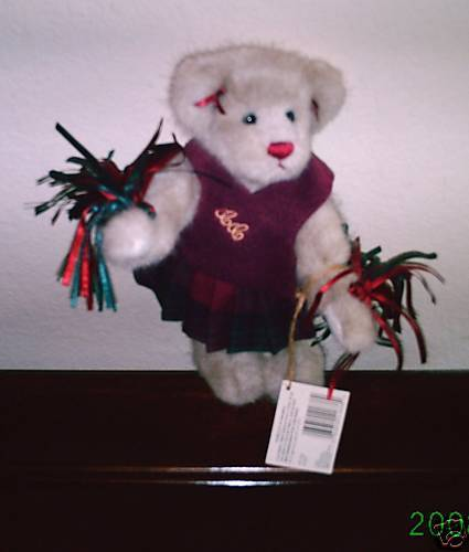 Primary image for Ganz Cottage Collectibles Teddy Bear Cheerleader~ Lucy