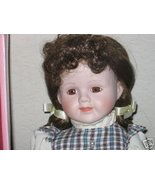 Kingstate The Dollcrafter Porcelain Doll ~ Mary ~ MIB - $9.29