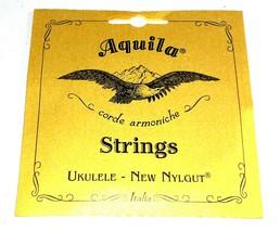 Aquila Ukulele Strings Soprano Regular Nylgut Made in Italy - $7.52