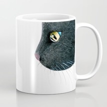 Coffee Mug Cup 11oz or 15oz Made in USA black Cat 604 mouse funny art L.... - $19.99+