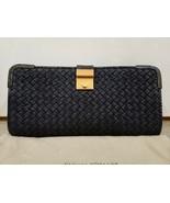 100% Authentic Bottega Veneta Rafialana Snake-Trimmed Clutch Bag.  Excellent!  - $960.59