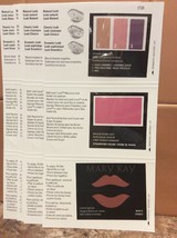 Mary Kay Sample Card Lot Of 5 - Eyeshadow Blush Lipstick - $9.99