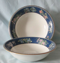 Wedgwood Blue Siam Cereal Bowl Set of 2 - $60.28