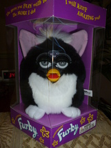 Original 1998 FURBY Skunk Furby Model 70-800 NRFB Never Removed from Box NEW - $59.99