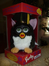 Original 1999 FURBY Special Limited Edition Graduation Furby NRFB NEW IN BOX - $59.99