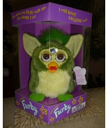 Original 1998 FURBY Frog Furby Never Removed From Box NEW IN BOX  - $59.99