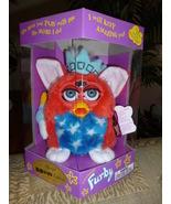 Original 1999 FURBY KB Toys Special Limited Edition Patriotic Furby NRFB - $59.99