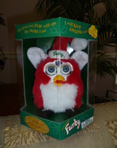 Original 1999 FURBY Limited Edition Holiday Santa Christmas Furby NRFB NEW  - $59.99