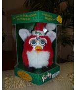 Original 1999 FURBY Limited Edition Holiday Santa Christmas Furby NRFB NEW  - $59.99