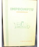 Impromptu (Legerdemain) by MacCarthy Brian - $50.00
