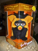 Original 1999 FURBY Autumn Halloween Special Limited Edition Witch Furby NRFB  - $59.99