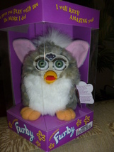 Original 1998 FURBY Church Mouse Furby Green Eyes NRFB NEW IN BOX  - $59.99