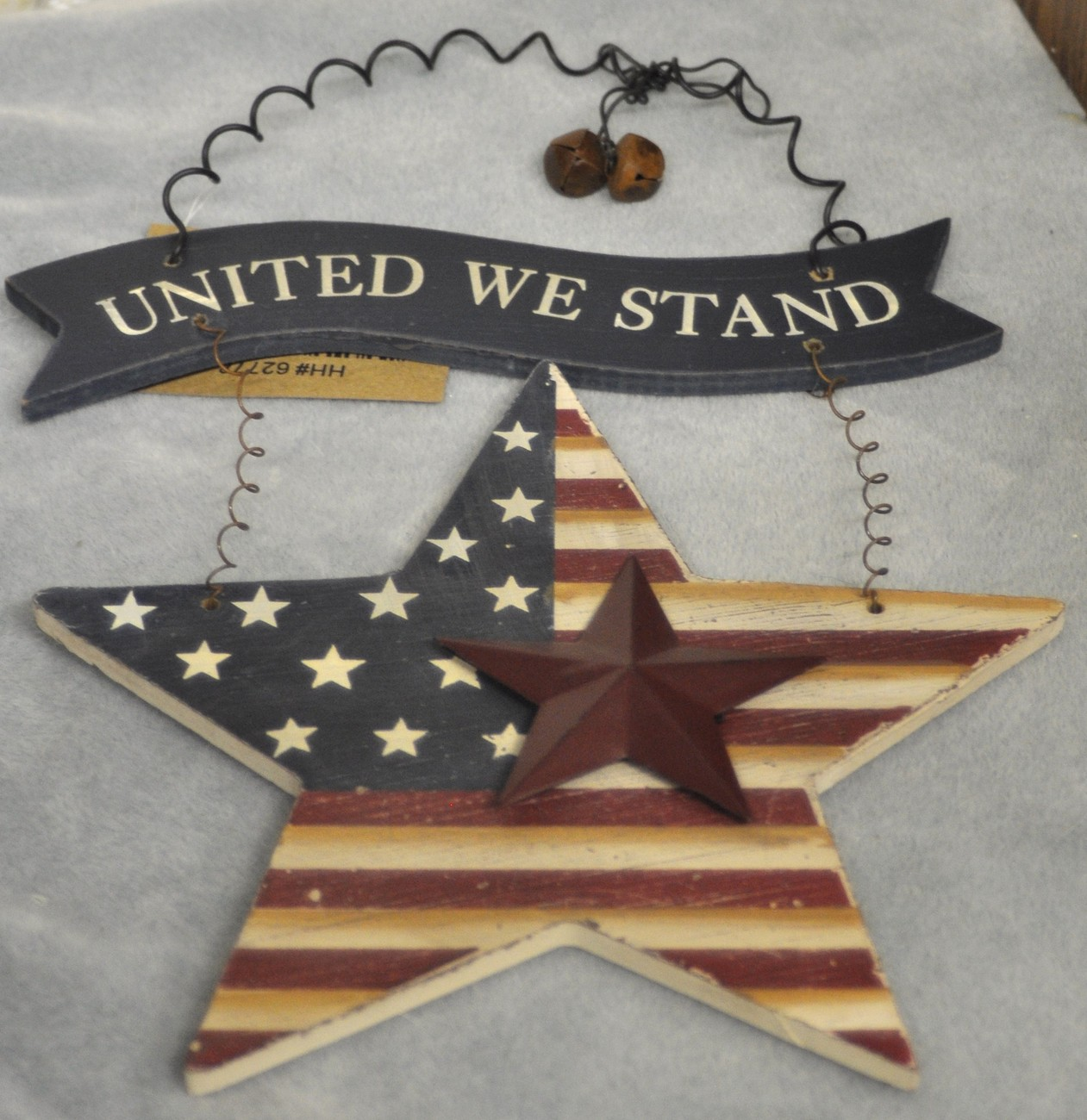 Red, White, and Blue Sign Hangers