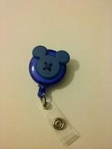 Mickey Mouse badge reel key card ID holder lanyard retractable Disney sc... - $8.50