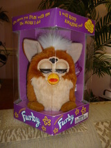 Original 1999 FURBY Squirrel Furby Model 70-800 Never Removed From Box NEW  - $59.99