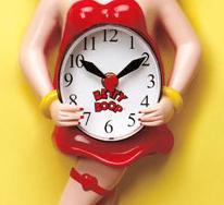 Betty Boop™ Animated Clock