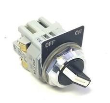 IDEC ASD210N 2 Position Selector Switch W/ BST-010 NO Contact Block(6 Av... - $15.99