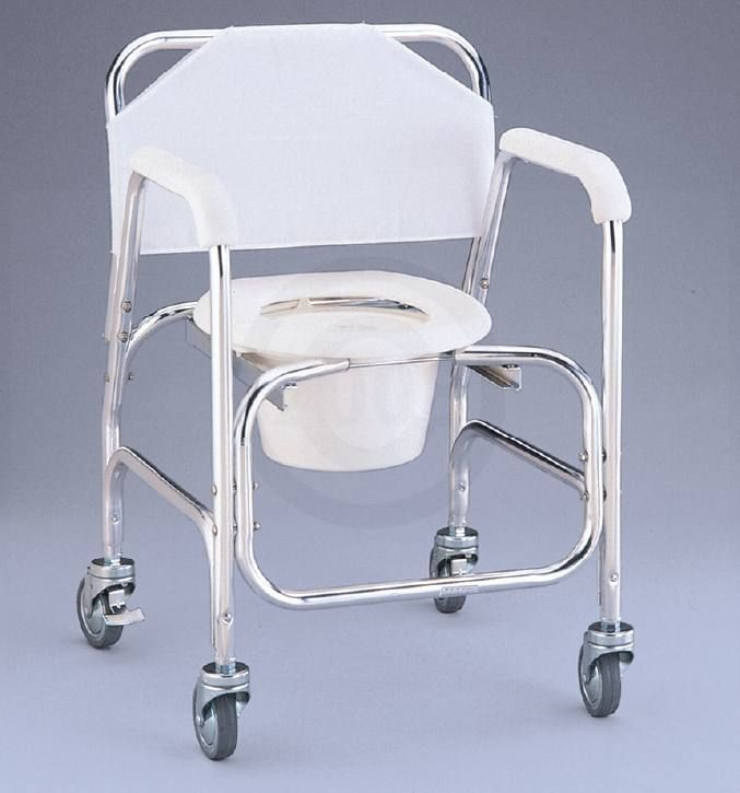 NOVA Shower Chair Commode Rolling Wheelchair and 30 similar items