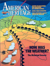American HERITAGE1986 JUNE/JULY-v.37#4-U.S.WEATHER,NAVY - $9.99