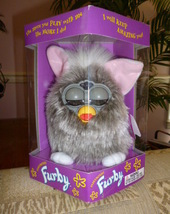 Original 1998 FURBY Gray Wolf Furby Model 70-800 Never Removed From Box NEW - $59.99