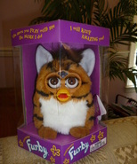 Original 1998 FURBY Orange Tiger Furby Model 70-800 Never Removed From B... - $59.99