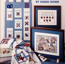 CROSS STITCH THE QUILTING BEE BY DEBBIE MUMM - $3.50