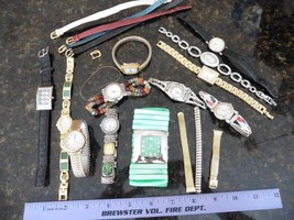 Lot of watches ladies watch Parts bands Trendz Timex Avenue Brittania Co... - $40.00