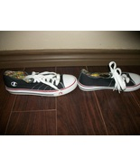 Women's Black Champion Converse-Type Shoes Size 7.5 Pre-Owned - $2.50