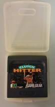 N) Clutch Hitter (Sega Game Gear, 1991) Video Game Cartridge - $6.60 CAD