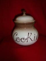 NUOVA CAPODIMONTE COOKIE/BISCOTTI JAR - $31.99