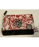 Lancôme Sophie Theallet Rust Red, Black & White Print w/ Patent Leather ... - $6.47
