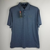 Under Armour Men Playoff Golf Polo 1253479 431 Blue Gray Size XL MSRP $65 - $44.95