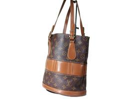 Authentic Louis Vuitton Vintage Bucket Monogram Tote Bag Shoulder Bag LS11553L - $219.00