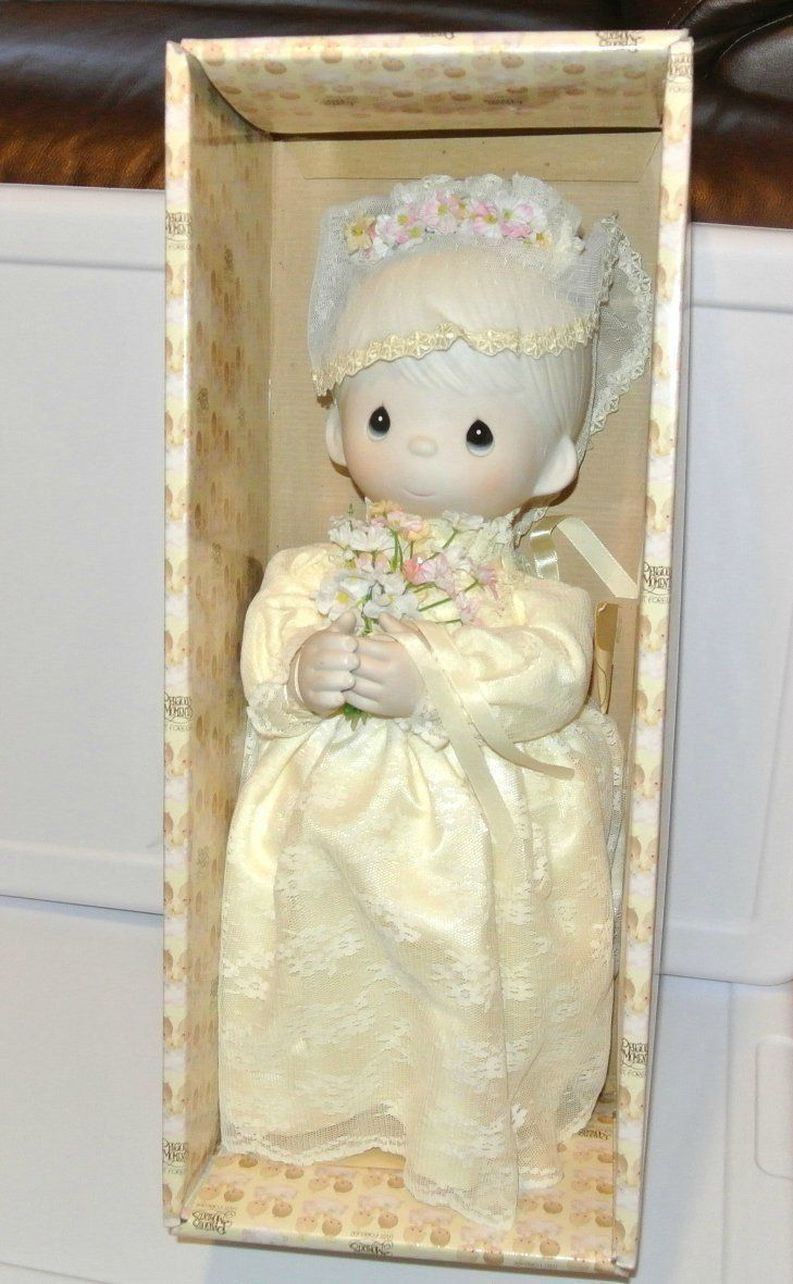 Enesco Precious Moments E-7267/G Bride Collectors Tammy Doll COA