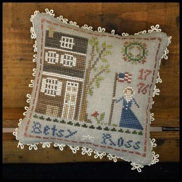 Betsy Ross #1 Early Americans series cross stitch chart Little House Needlework