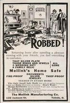 Meilinks Home Safe House Robbery Protection House Office Wall Safes 1908 AD - $14.99