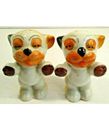 Vintage Salt and Pepper Shakers Bonzo The Dog Made in Japan - $13.06