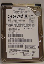 60GB IDE 2.5 drive Hitachi - HTS541060G9AT00 Tested Free US Ship Our Dri... - $10.95