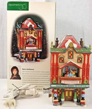 """Dept. 56 North Pole Series. """"Marie's Doll Museum"""" Hand Painted Porcelain... - $15.00"""