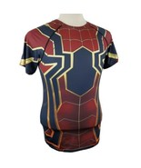 Marvel Spider Man Compression Activewear Shirt Large Cody Lundin Sport Polyester - $17.99